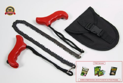 Lowest Prices! POCKET CHAINSAW with Pouch. Wanting a truly versatile and effective tree, camping or ...