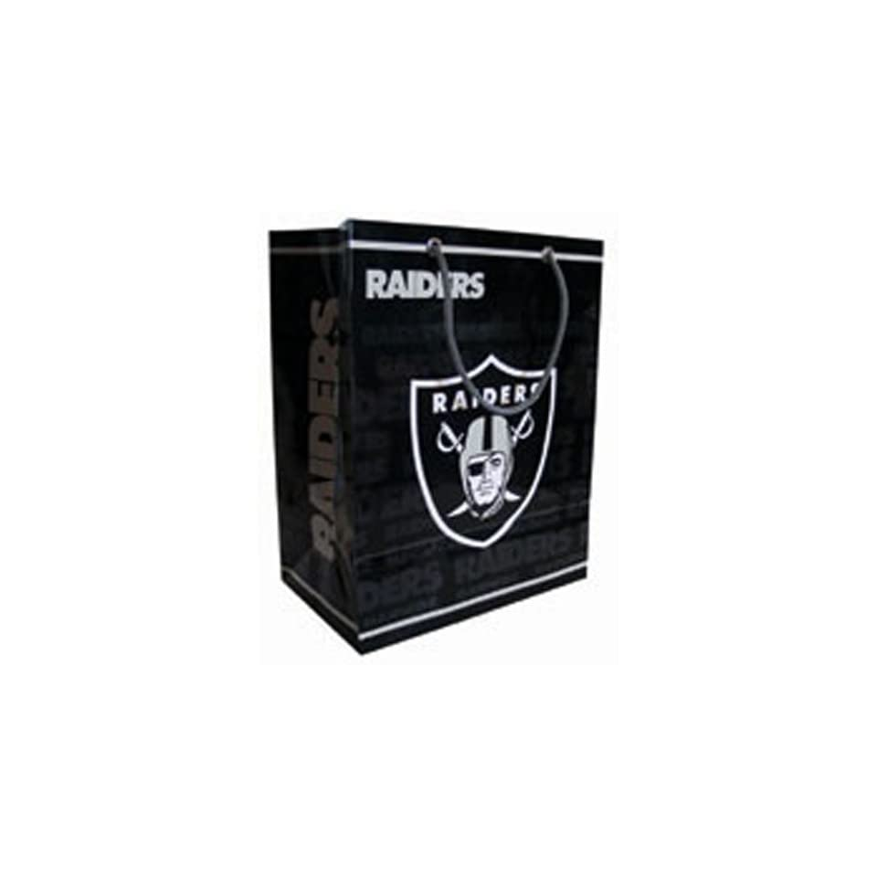 Oakland Raiders NFL Large Gift Bag (15.5 Tall)