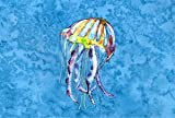 Caroline's Treasures 8682PILLOWCASE Jellyfish Moisture Wicking Fabric Standard Pillowcase, Large, Multicolor