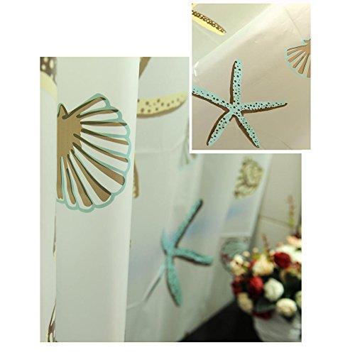 Waterproof Mould Proof Bathroom Shower Curtain Window Curtain With Hooks Ebay