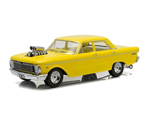 NEW 1:18 ARTISAN COLLECTION - YELLOW 1965 FORD CP FALCON Diecast Model Car By Greenlight (1965 Ford Falcon Model compare prices)