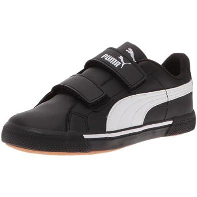 Puma Benecio L Kids - Chaussures de sport lifestyle Cadet - Bébé - Noir / Blanc - 31