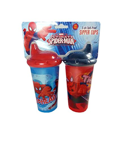 Marvel Ultimate Spider-man 2-10 Oz Sipper Cups - 1