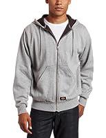 Dickies Men's Thermal-Lined Front-Zip Hooded Jacket