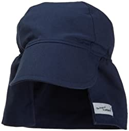 Flap Happy Flap Hat, Navy Medium