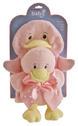 "Lil Duck Girl Bath Toy Set 8"" by Aurora - 1"