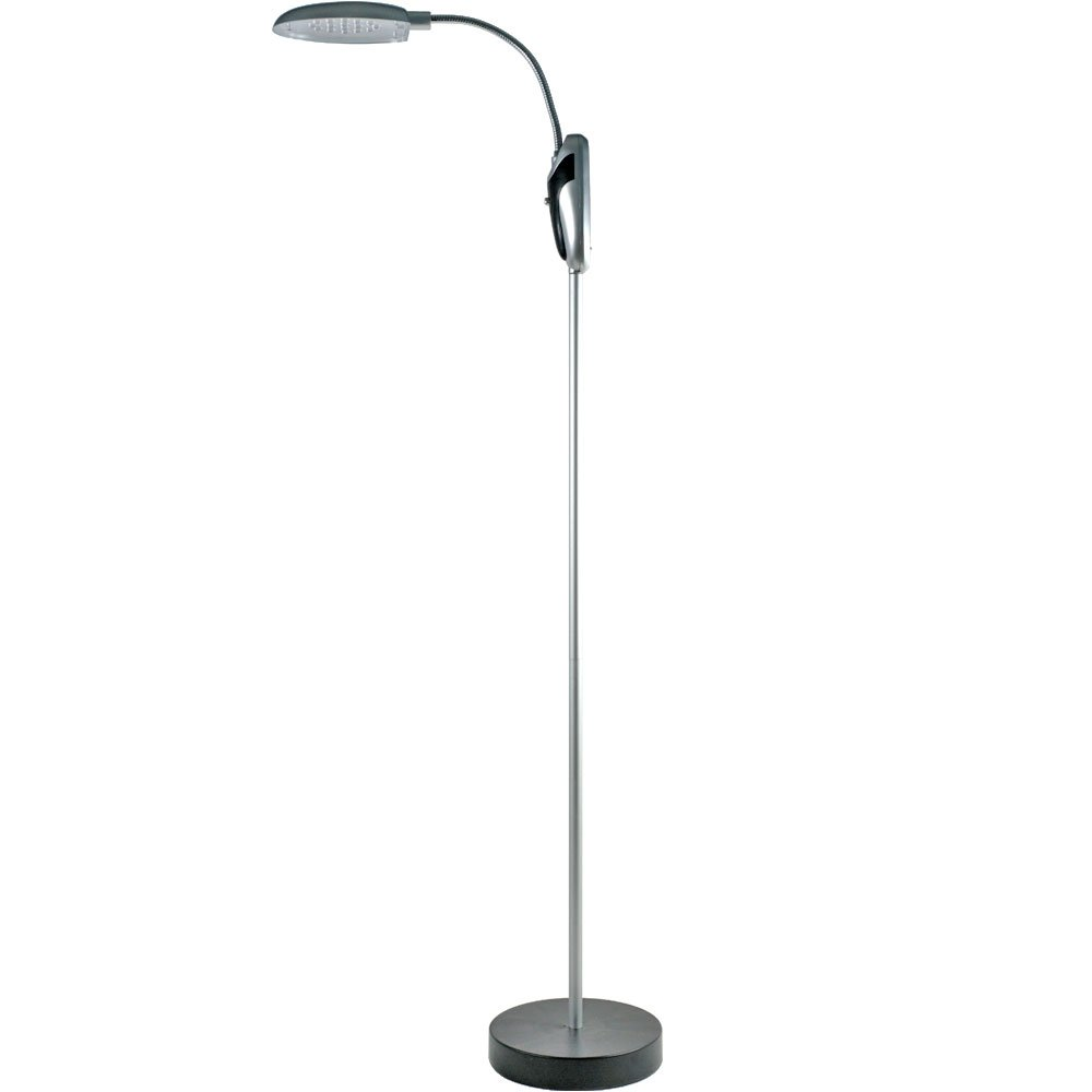 824894 cordless portable battery operated led floor lamp light ebay. Black Bedroom Furniture Sets. Home Design Ideas