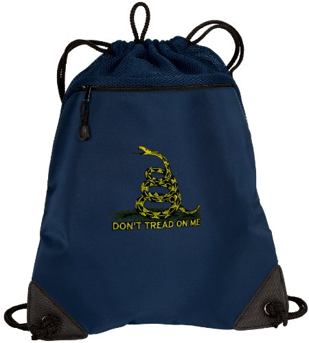 Don'T Tread On Me Drawstring Bag Backpack Tea Party Flag Drawstring Bags Sophis