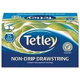 Tetley Black Tea Drawstring in Envelope - Pack of 25 Tea Bags