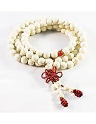 Tibet Mala Buddha Linden Bodhi Seeds Buddhist Prayer Bracelet