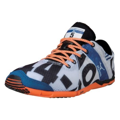 Mizuno Women's Wave Universe 5 Running Shoe,White,8 B US