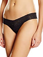 Triumph Tanga Brief Lace String (Negro)