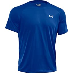 Under Armour Men\'s UA TechTM Short Sleeve T-Shirt Extra Large Moon Shadow