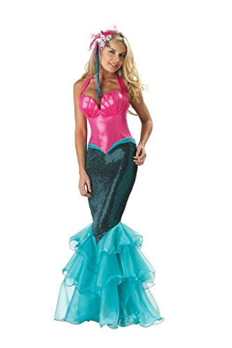 Incharacter Womens Storybook Mermaid Theme Party Fancy Dress Halloween Costume