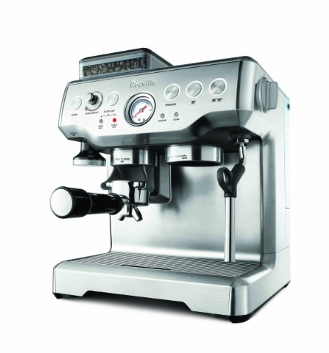 Breville Refurbished Barista Express Scratch/Dent Prog Espresso with Grinder