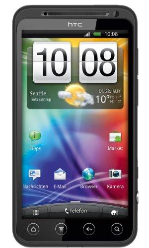 HTC Evo 3D Smartphone (10,9 cm (4,3 Zoll) Display, Touchscreen, 5 Megapixel Kamera, Android 2.3 OS) schwarz