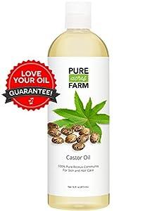 16oz Pure Castor Oil (16oz)