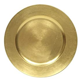 ChargeIt! by Jay Gold 13-inch Charger Plates Set of 4