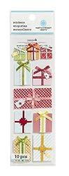 Martha Stewart Crafts Stickers, Bright Layered Presents
