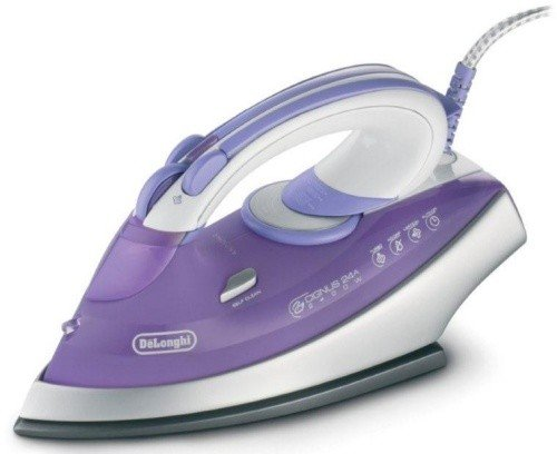 Delonghi DEFXN24A CYGNUS Dry Steam Iron 220-240 Volt/ 50-60 Hz (INTERNATIONAL VOLTAGE & PLUG) FOR OVERSEAS USE ONLY WILL NOT WORK IN THE US, OUR PRODUCT ARE BRAND NEW, WE DO NOT SELL USED OR REFERBUSHED PRODUCTS. (Delonghi Ironing compare prices)