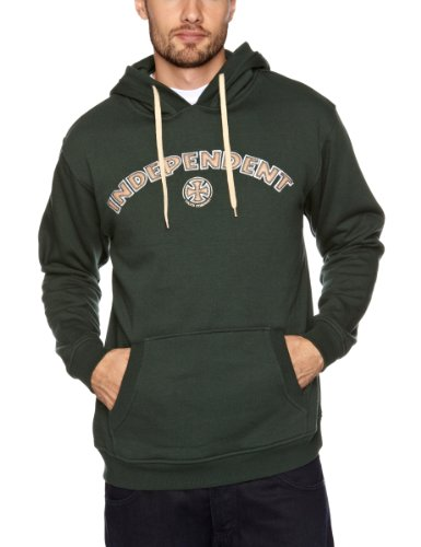 Independent Carve Men's Sweatshirt Green Large