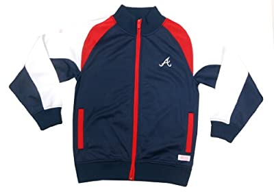 MLB Girl's Mock Neck Track Jacket
