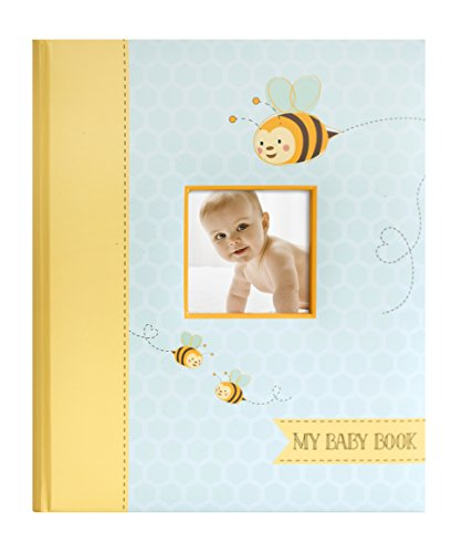 Little Blossoms Sweet Bee Babybook, Multicolored