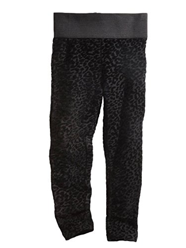 GUESS Kids Big Girl Flocked Leopard Leggings (7-16)