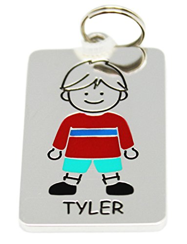 Ganz Kids Tag Charms - My Kids Keyring and Necklace - TYLER