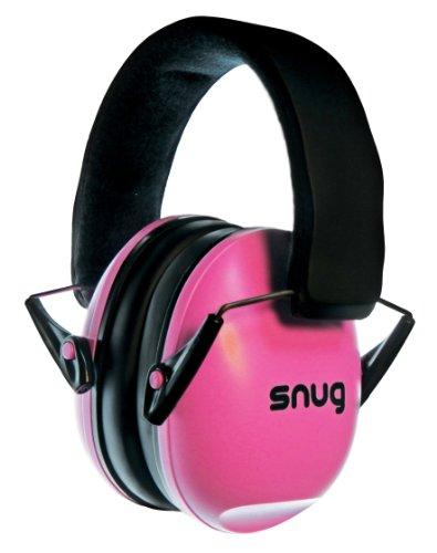 Snug Safe n Sound Bambini Otoprotettori / Cuffia Protettiva / Protezioni Acustiche - Archetto regolabile Cuffie per bambini e adulti (Rosa)