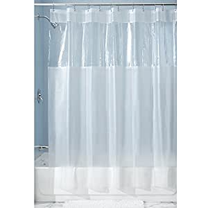 interdesign hitchcock shower curtain 72 x 72 clear home kitchen. Black Bedroom Furniture Sets. Home Design Ideas