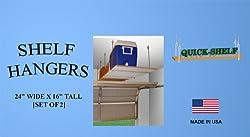 """Shelf Hangers - 24"""" Wide X 16"""" Tall [4 Pack]"""