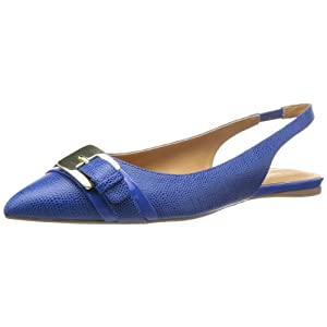 Nine West Women's Anyamarie Ballet Flat,Dark Blue/Dark Blue,11 M US