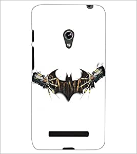 PrintDhaba Bat D-5402 Back Case Cover for ASUS ZENFONE 5 A501CG (Multi-Coloured)