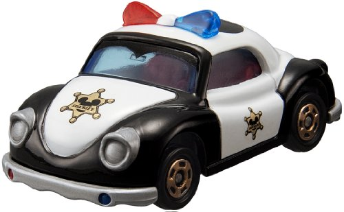Tomica Disney Motors DM-12 Poppins Patrol Car Minnie Mouse - 1