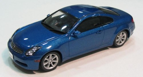 Infiniti G35 Blue. Nissan Skyline Coupe 350GT (Infiniti G35) Blue 1/43 Scale Diecast Model Ebbro is a brand of MMP Limited which is based in Japan.