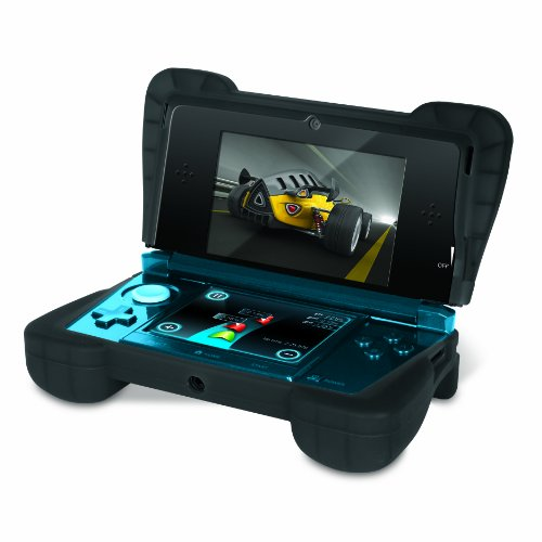 Dreamgear Nintendo 3Ds Comfort Grip - Transparent Black