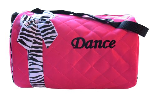 Dance bag  Quilted Zebra Duffle Picture