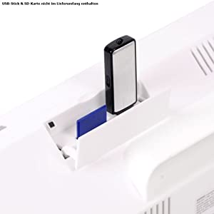 Best deals of  Microsystem Iphone/Ipod docking Station CD Radio USB SD MP3 Denver MCI-103 white