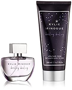 Kylie Minogue Dazzling Darling Eau De Toilette 30ml and Body Lotion 200ml Gift Set for Her