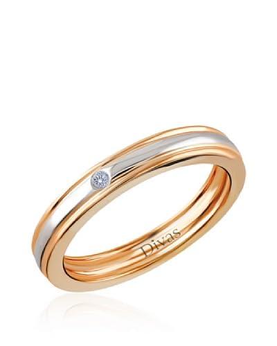 Divas Diamond Anillo Diamante Engagement Oro Amarillo