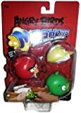Angry Birds Mash'ems, Assorted Colors, Random Colors, Vary 3 Pack