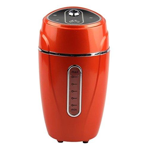 SpeedControl Portable 180 ML USB Powered Mini Air Humidifier Air Mist Purifier Aromatherapy Humidifier Car Humidifier (Brown)