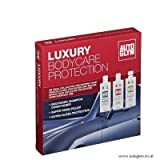 Autoglym Luxury Car Valet set - With large Sponge + 8 X Autoglym Perfect Polishing Cloths + 2 x Magic Trees and Demister Pad + KENT Award Winning Drying Towel + KENT 6 Pack Microfibre Cleaning Towels - Ideal Christmas Gift / Present