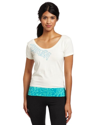 Zumba Fitness Women's Surf Side Sexy Back Top