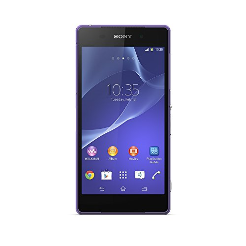 Sony Xperia Z2 Cell Phone - Unlocked (Purple)