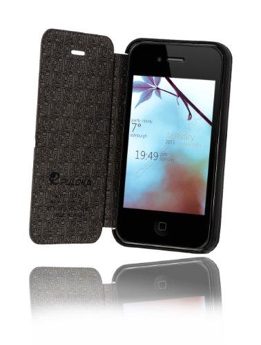 Schutzhülle Flipcase für Iphone 5 Iphone 5S Iphone 5C Flipcover Hülle Schwarz