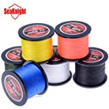1000M SeaKnight Tri-Poseidon Series Braid Wire PE Braided Fishing Line Braided Line 8-60LB(grey) - B01JLVW948