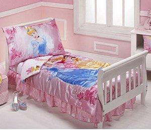 Disney Princess Toddler Bed 228 front