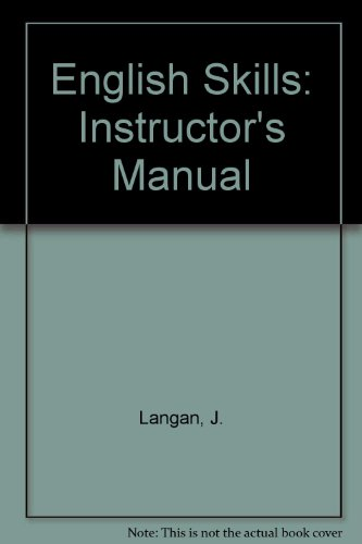 English Skills: Instructor's Manual